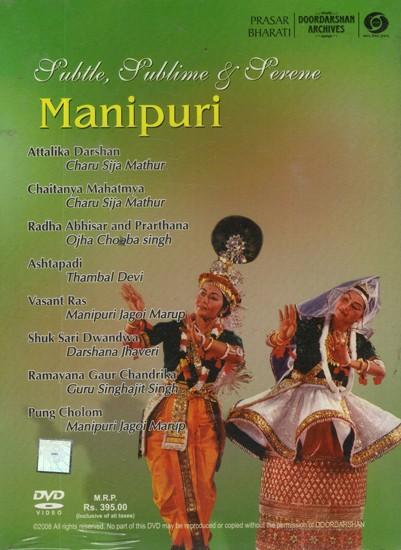 Manipuri: Subtle, Sublime & Serene (With Booklet Inside) (DVD)