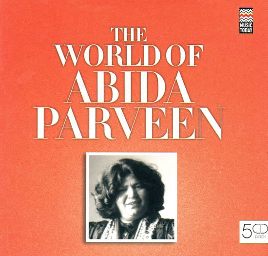 The World of Abida Parveen (Set of 5 Audio CDs)