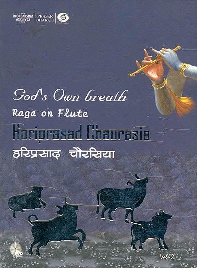 God's Own Breath: Raga On Flute (Vol-II) (With Booklet Inside) (DVD)