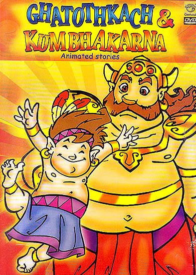 Ghatothkach & Kumbhakarna (Animated Stories) (DVD)