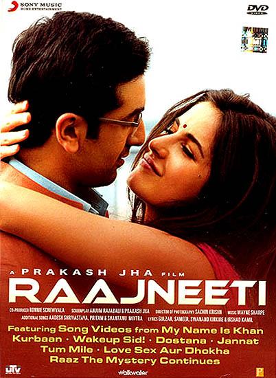 Raajneeti, The Politics (DVD)