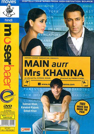 Main aur Mrs Khanna (DVD)