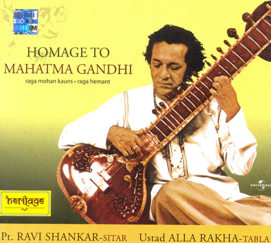 Homage to Mahatma Gandhi: Raga Mohan Kauns and Raga Hemant (Audio CD)