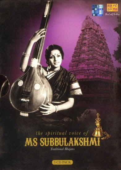 The Spiritual Voice of MS. Subbulakshmi (Set of 3 Audio CDs)
