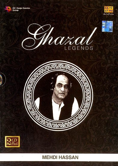 Ghazal Legends  (Set of 2 Audio CDs)