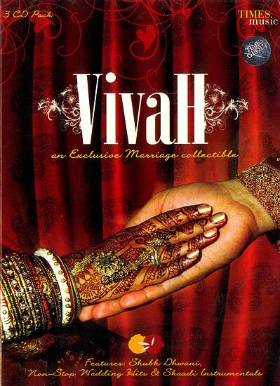 Vivah (An Exclusive Marriage Collectible) (Set of 3 Audio CDs)