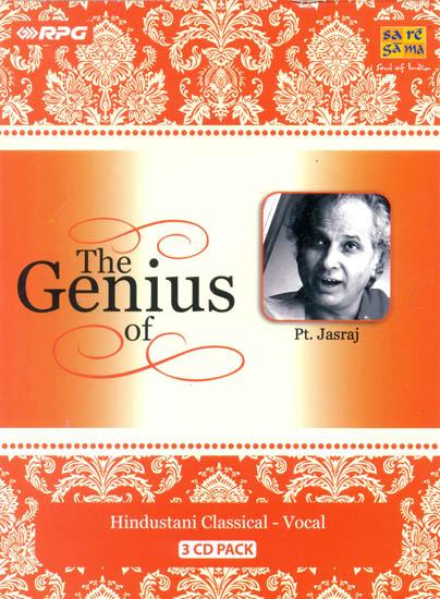 The Genius of Pt. Jasraj (Set of 3 Audio CDs)