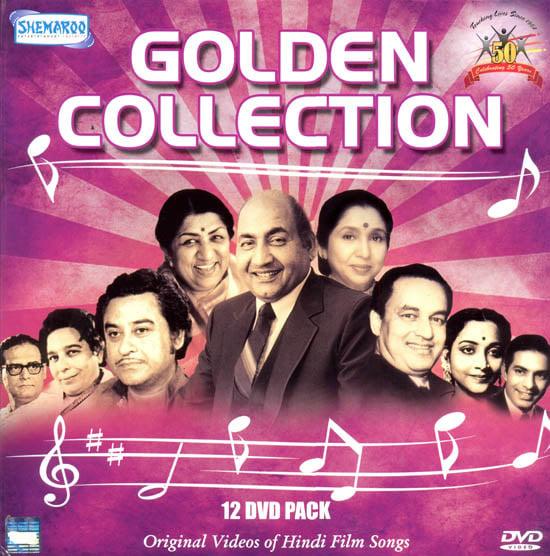 Golden Collection: Original Videos of Hindu Film Songs (Set of 12 DVDs)