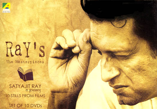 Ray's The Masterpieces : Satyajit Ray a Journey (Set of 10 DVDs)
