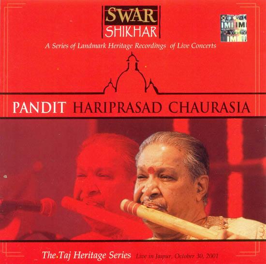 Pandit Hariprasad Chaurasia: The Taj Heritage Series Live in Jaipur (Audio CD)