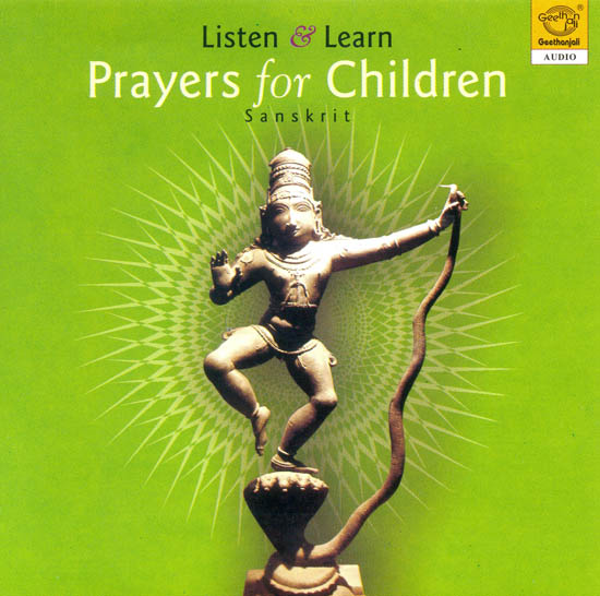 Listen and Learn - Prayers for Children: Sanskrit (Audio CD)