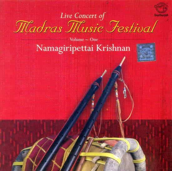 Live Concert Of Madras Music Festival: Nadaswaram, Volume-One (Audio CD)