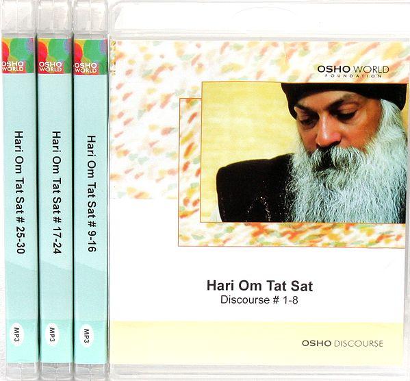 Hari Om Tat Sat  (Set of 4 MP3 CDs)