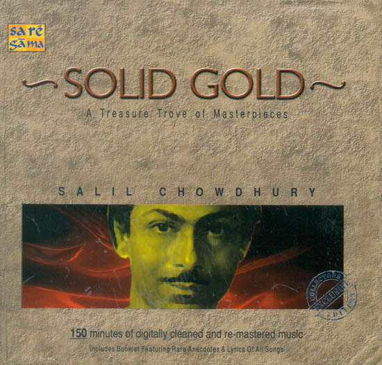 Solid Gold: A Treasure Trove of Masterpieces - Salil Chowdhury  (Set of 2 Audio CDs With Booklet)