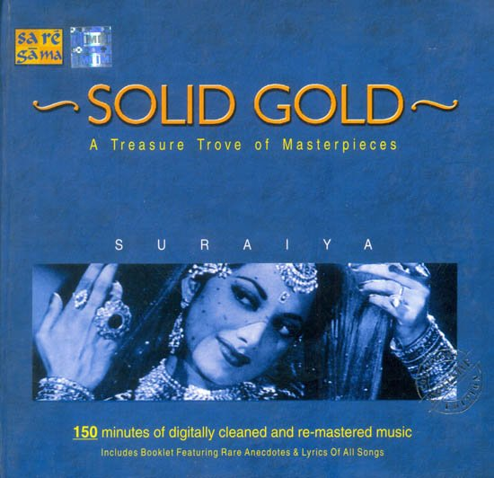 Solid Gold:  A Treasure Trove of Masterpieces - Suraiya (Set of 2  Audio CDs) (With Booklet)