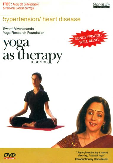 Yoga as Therapy for Hypertension and Heart Disease: With Booklet Inside (DVD)