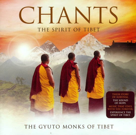 Chants The Spirit of Tibet (With Colorful Booklet Inside) (Audio CD)