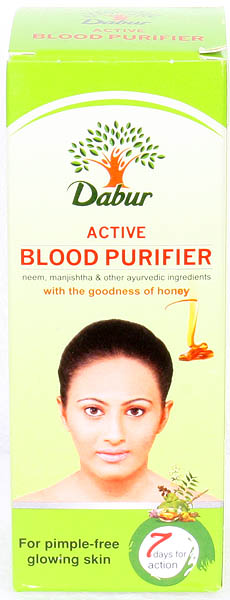 Active Blood Purifier - Neem, Manjishtha & Other Ayurvedic Ingredients (With the Goodness of Honey)