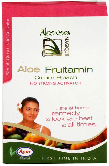 Aloe Fruitamin Cream Bleach