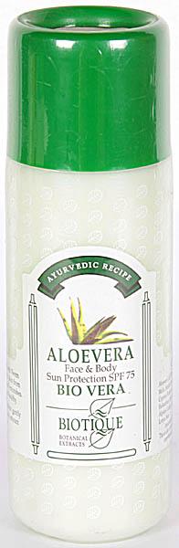 Aloevera - Face & Body Sun Protection SPE 75 Bio Vera