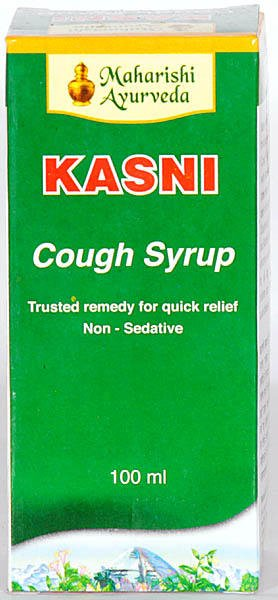 Maharishi Ayurveda Kasni Cough Syrup (Trusted Remedy for Quik Relief Non - Sedative)
