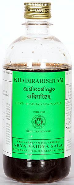 Khadirarishtam (Bhaishajyaratnavali)