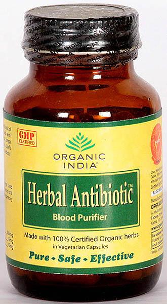 Organic India Herbal Antibiotic Blood Purifier