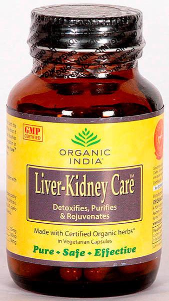 Organic India Liver-Kidney Care (Detoxifies, Purifies & Rejuvenates)