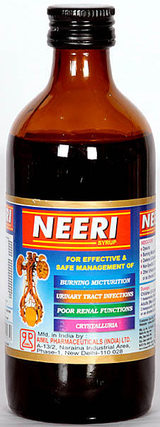 Neeri Syrup for Effective & Safe Management of Burning, Micturition Urinary Tract Infections, Poor Renal Functions, Crystalluria