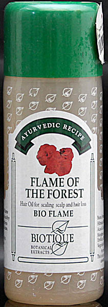 Flame of the Forest Hair Oil for Scaling Scalp and Hair Loss Bio Flame