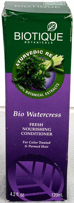 Bio Watercress Fresh Nourising Conditioner For Color Treated & Permed Hair