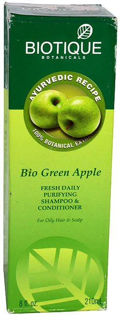 Bio Green Apple Fresh Daily Purifying Shampoo & Conditioner (For Oily Hair & Scalp)