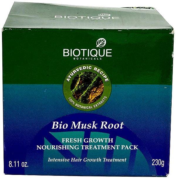 Bio Musk Root Fresh Growth Nourishing Treatment Pack (Intensive Hair Growth Treatment)