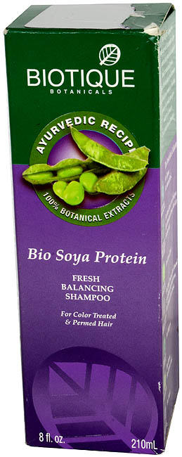 Bio Soya Protein Fresh Balancing Shampoo (For Color Treated & Permed Hair)