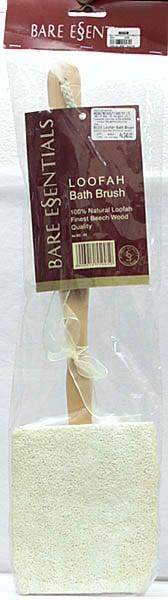 Bare Essentials Loofah Bath Brush