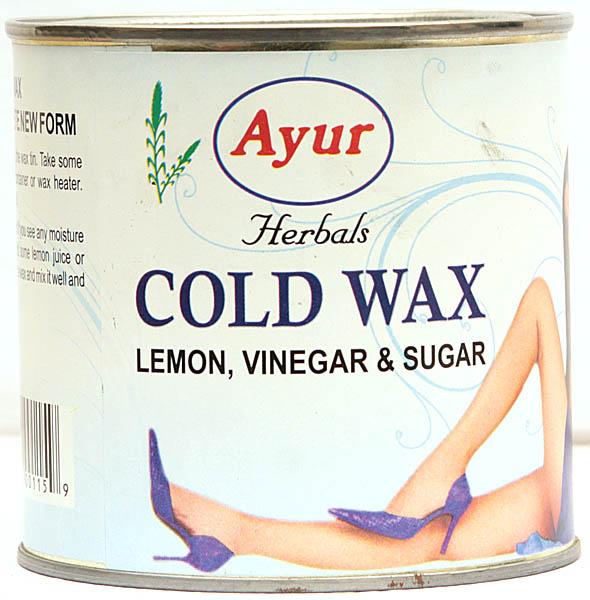Ayur Herbals Cold Wax (Lemon, Vinegar and Sugar)