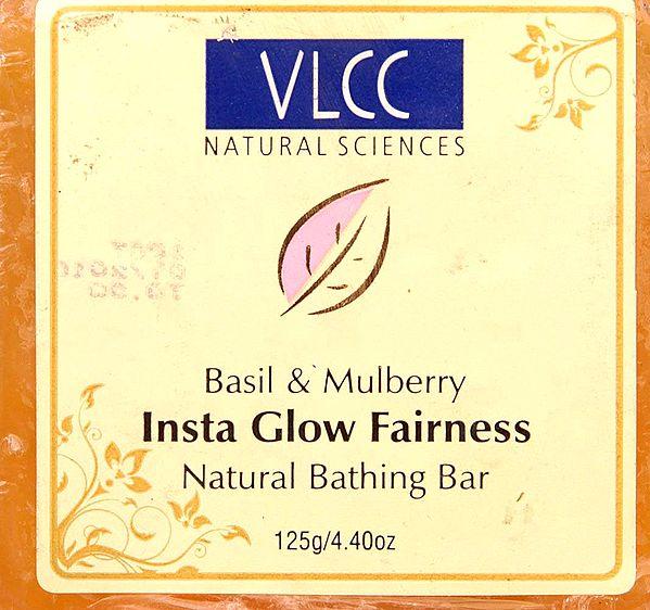 Insta Glow Fairness - Natural Bathing Bar (Basil & Mulberry)