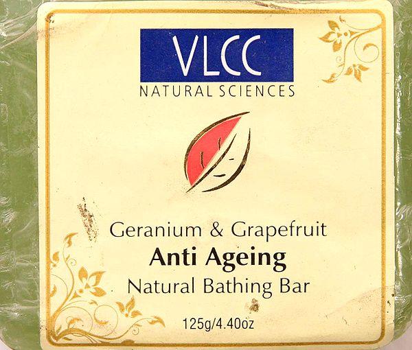 Anti  Ageing - Natural Bathing Bar (Geranium & Grapefruit)