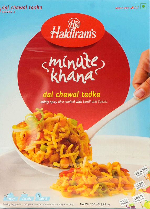 Haldiram's 5 Minute Food - Dal Chawal Tadka