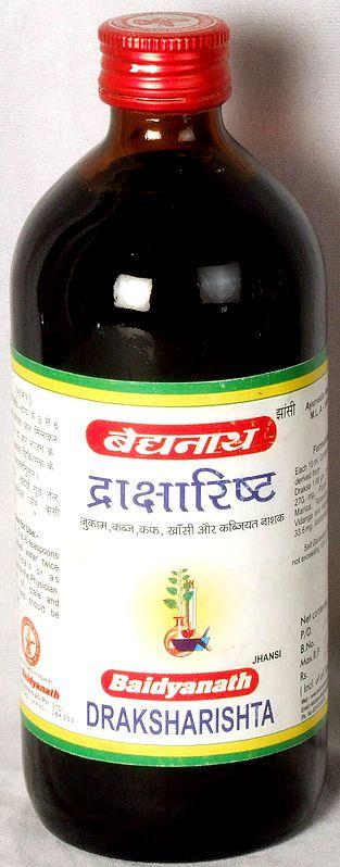 Draksharishta (Cold, Cough and Constipation)