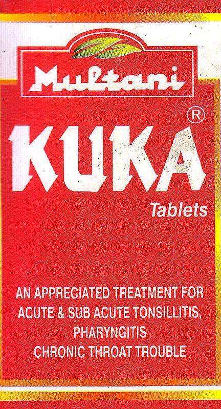 Kuka Tablets: An Appreciated Treatment for Acute & Sub Acute Tonsillits Pharyngitis Chronic Throat Trouble