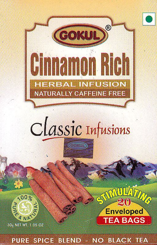 Cinnamon Rich Herbal Infusion Naturally Caffeine Free: Classic Infusions