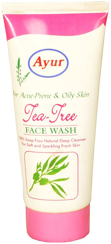 Ayur Tea Tree Face Wash (For Acne-Prone & Oily Skin)