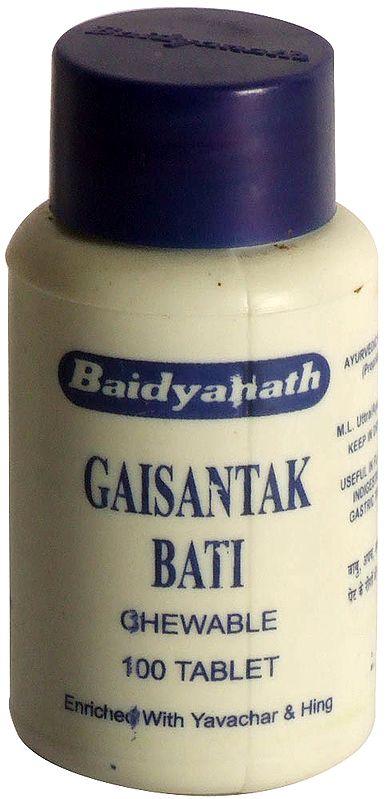 Gaisantak Bati : Chewable (100 Tablets)