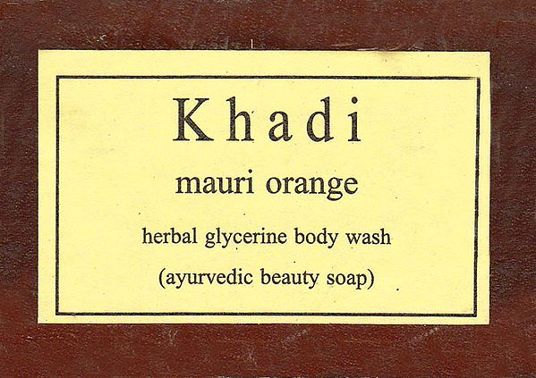 Khadi Mauri Orange
