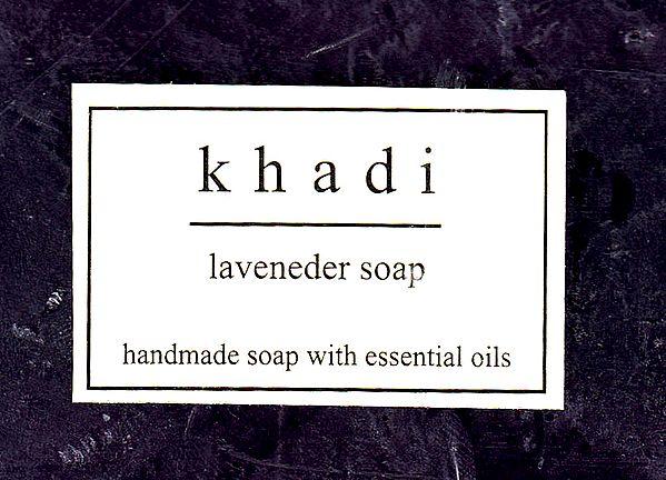 Khadi Laveneder Soap