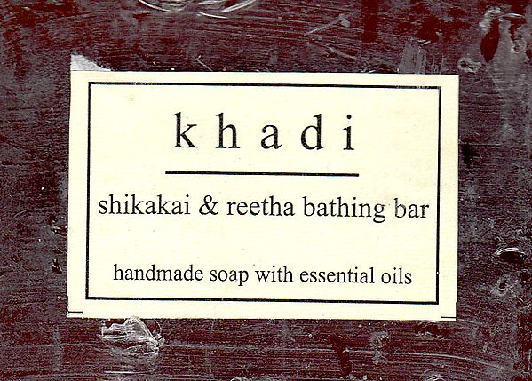 Khadi Shikakai & Reetha bathing Bar