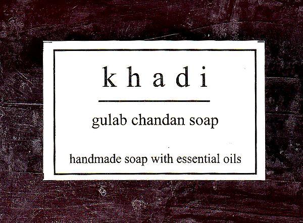 Khadi Gulab Chandan Soap