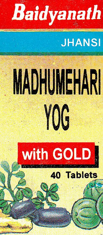 Madhumehari Yog (with Gold 40 Tablets)