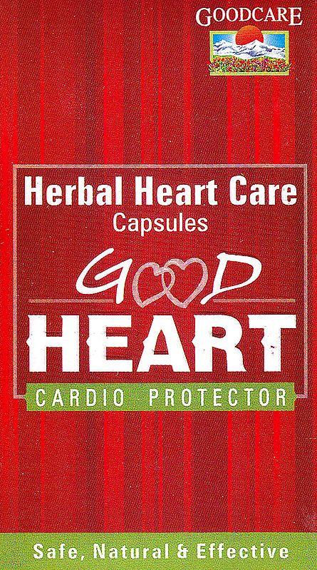 Good Heart: Herbal Heart Care Capsules Cardio Protector